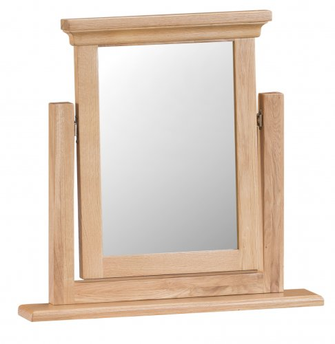 Light Warwick Bedroom Trinket Mirror