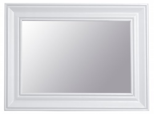 Kettering White Bedroom Small Wall Mirror